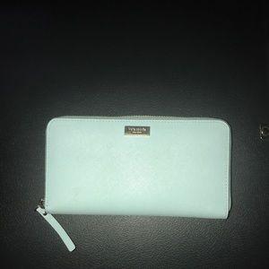 Aqua Blue Wallet